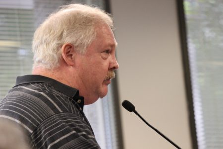 Dunwoody Homeowners Association board member Bill Grossman is also a member of the city's Planning Commission. He spoke out against the city's recent order stating DHA members cannot also serve on city boards. (Photo Dyana Bagby)