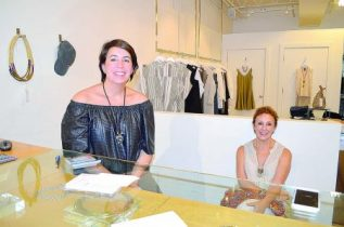 Desireé Osmon, left, owner of Sabot, a clothing store, with her mother Sylvia Verutia, says she is moving from her current location to one on Roswell Road after 13 years.