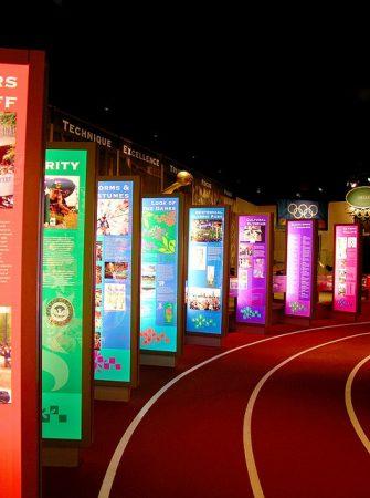 The Atlanta History Center's Olympic exhibition.