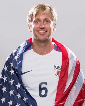 U.S. Paralympics soccer team member Steven Bohlemann.