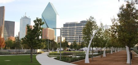 Klyde Warren Park in Dallas. (Office of James Burnett)
