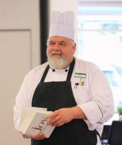 Allen Clark, food service director at Mount Vernon Presbyterian School.
