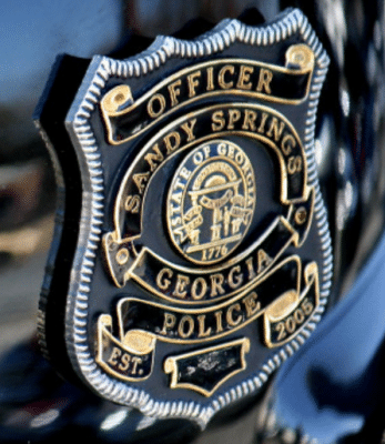 Sandy Springs Police Badge