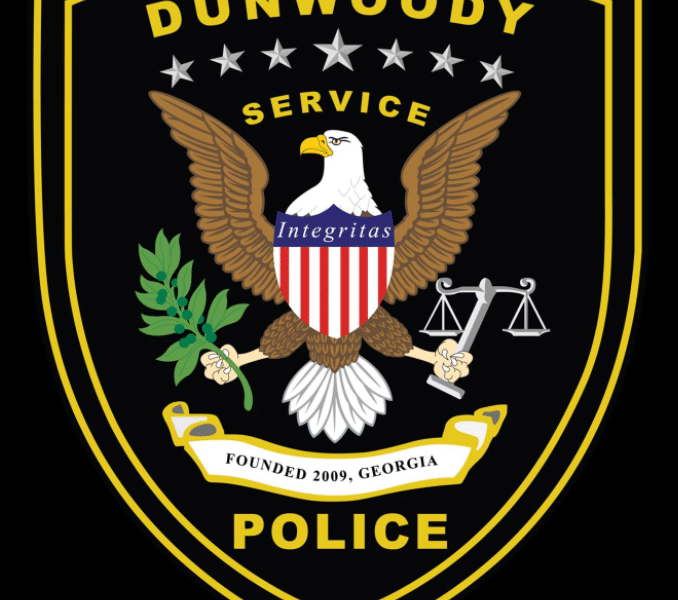dunwoody police patch