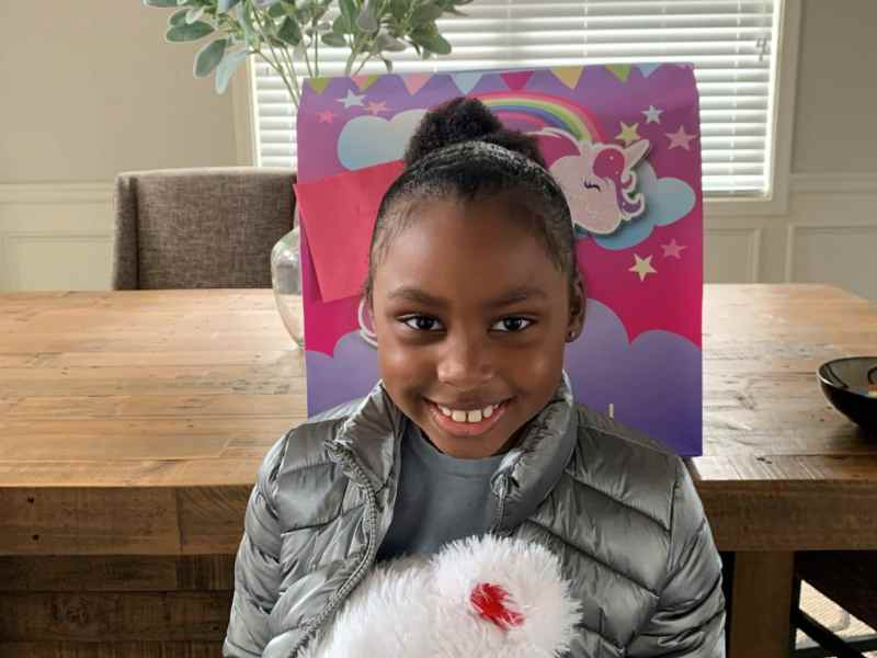 Kennedy Maxie, 7, the victim of a Dec. 21 shooting in Buckhead,