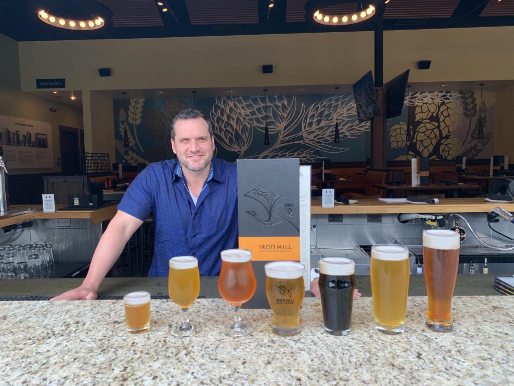 Joe Kopke, Iron Hill Brewery and Restaurant.