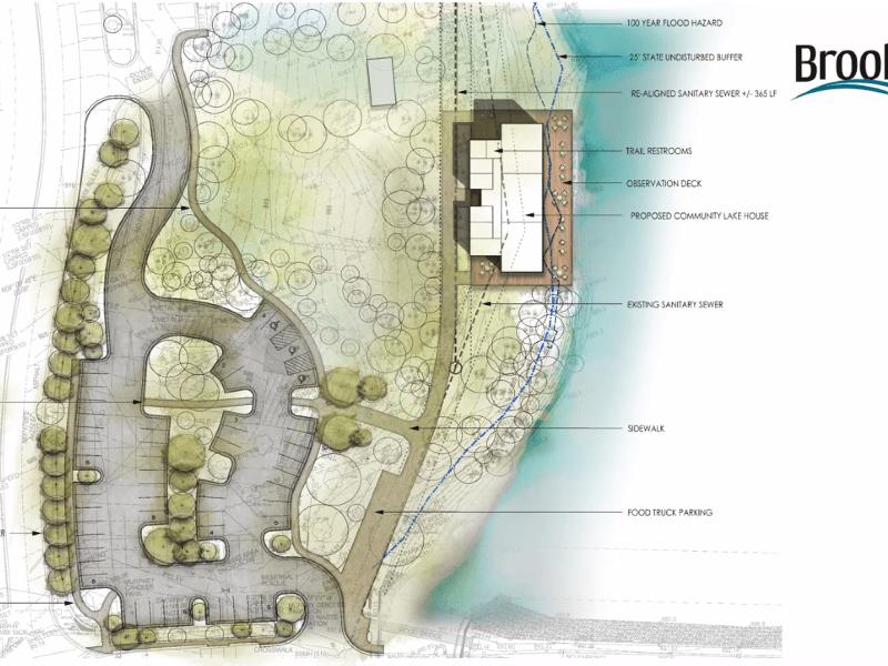 Lake House design at Murphey Candler Park