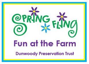 Dunwoody Preservation trust spring fling logo