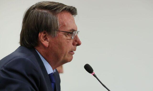 O presidente Jair Bolsonaro, participa da 29ª Reunião do Conselho de Governo