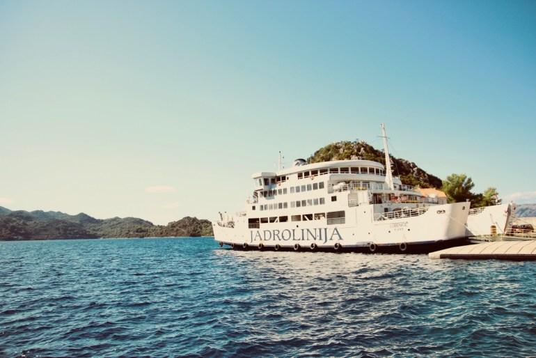 Mljet Croatie rejoindre l'île