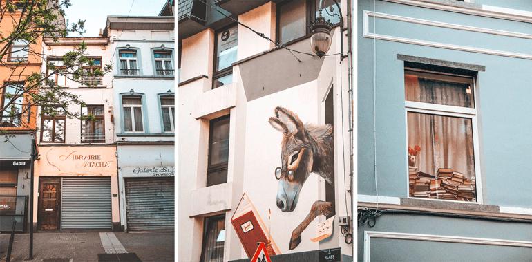 façades Marolles Bruxelles