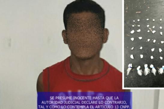 DETIENE LA PEP, TIRADOR DE CRACK EN CALDERITAS