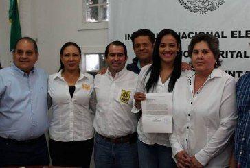 REGISTRA PRD CANDIDATAS A DIPUTADAS FEDERALES EN LOS DISTRITOS 03 Y 04.