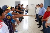TOMA PROTESTA COMITÉ DE VIVIENDA,TECHOS Y BAÑO EN LÁZARO CÁRDENAS