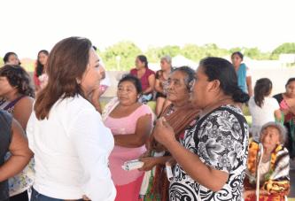 LAS FAMILIAS DEL CAMPO MERECEN UNA VIDA DIGNA: CORA AMALIA