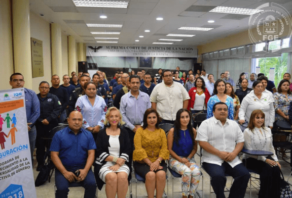FGE PRESENTE EN INAUGURACIÓN DE CURSO SOBRE FEMINICIDIO
