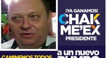 CHAK ME'EX, CÍNICO Y MENTIROSO