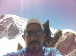 A 3600 metros de altura, en el campamento la noche antes de llegar a la cima del Mont Blanc