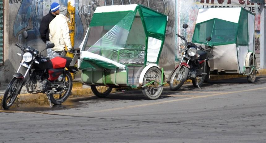Captura de banda dedicada al robo de mototaxis