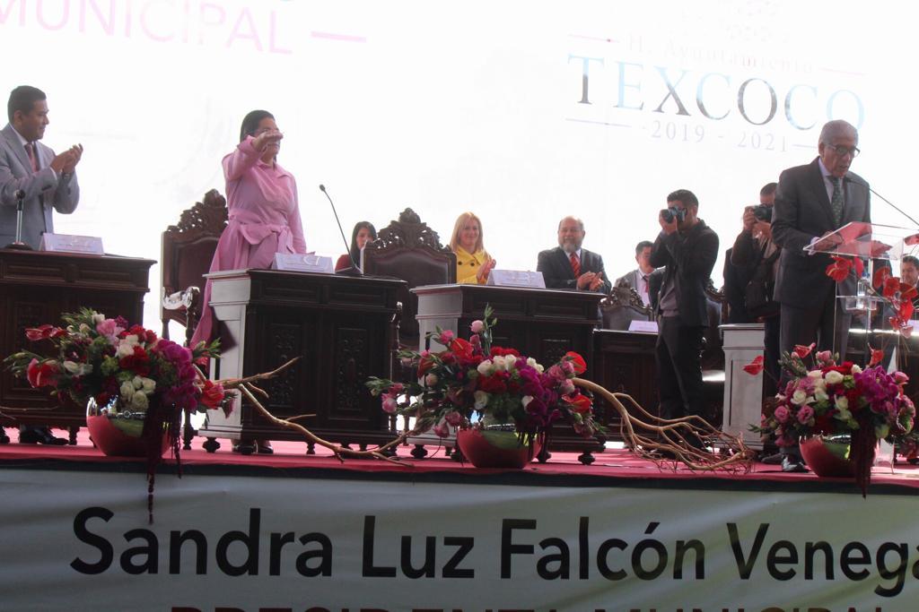 """""""NO HABRÁ TREGUA, TOLERANCIA NI COMPLICIDAD"""" CONTRA LA DELINCUENCIA EN TEXCOCO: SANDRA LUZ FALCÓN"""