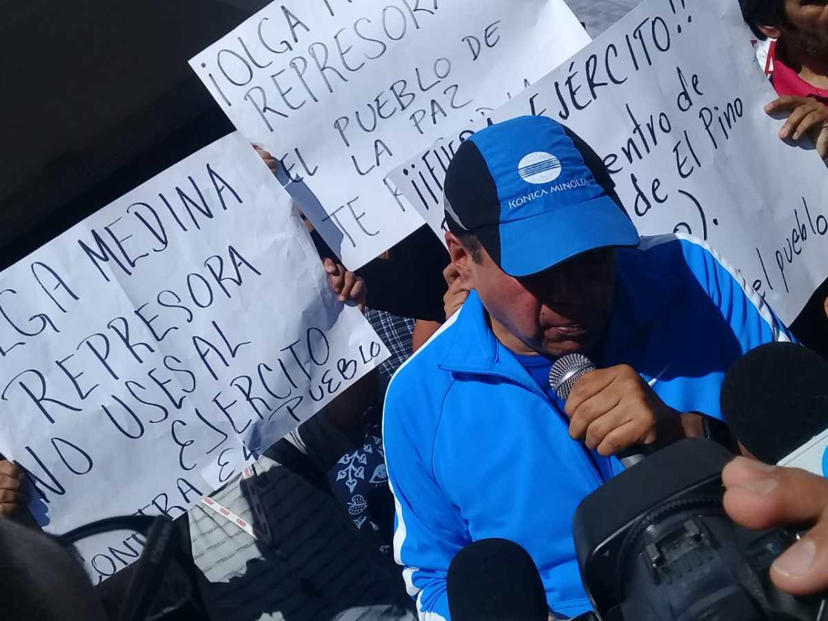 ANTORCHISTAS RECUPERAN SU EDIFICIO EN LOS REYES LA PAZ, LUEGO DE SER DESALOJADOS POR MILITARES
