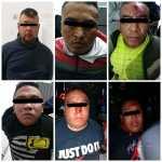 SON DETENIDOS ESTOS SEIS SUJETOS POR SECUESTRAR A UNA FAMILIA DENTRO DE SU HOGAR EN ECATEPEC