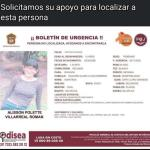 ALISSON DE 12 AÑOS DE EDAD DESAPARECIÓ DE   AMECAMECA, SU FAMILIA LA BUSCA