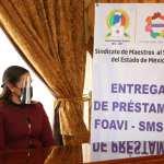 Respalda SMSEM y fortalece economía de maestros con programas asistenciales