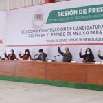 SE PRERREGISTRAN 33 ASPIRANTES A DIPUTADOS FEDERALES POR   EL PRI EDOMEX