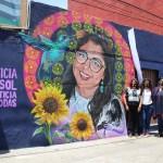 Con mural urbano exigen Justicia para Sol