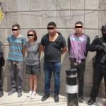 EN IZTAPALAPA, 4 JÓVENES DETENIDOS POR ROBO DE AUTOS, TENÍAN 5 TONELADAS DE AUTOPARTES