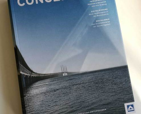 Cover des Kundenmagazins concepts by Hochtief 2/2018