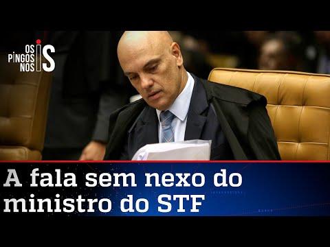 Alexandre de Moraes critica tirania da maioria