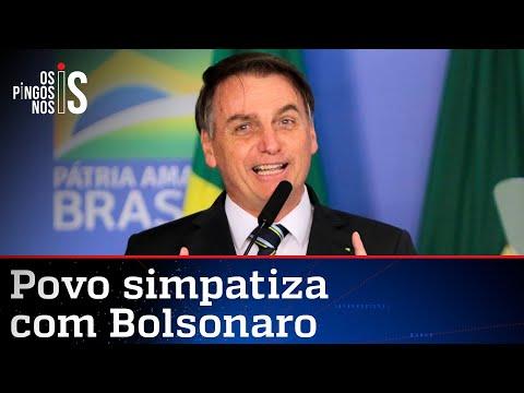 Bolsonaro é o campeão de simpatia