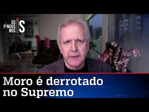 Augusto Nunes: Existe um complô no STF para livrar Lula e devolvê-lo à política
