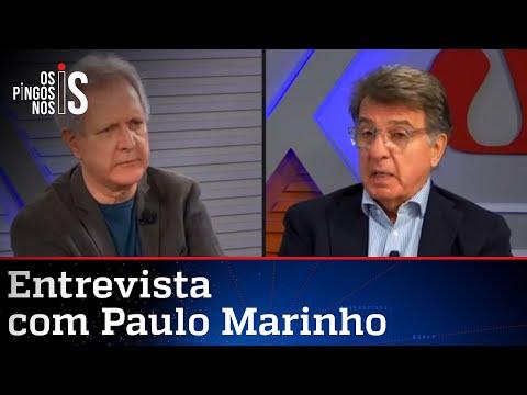Paulo Marinho, pré-candidato a prefeito do Rio, fala à Jovem Pan