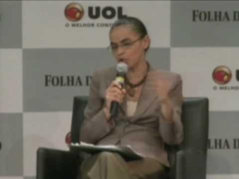 Sabatina Folha/UOL – Marina é a favor do 'tripé' na política econômica