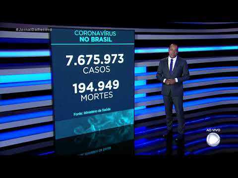 Coronavírus: Brasil termina 2020 com quase 195 mil mortos