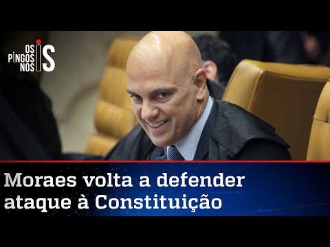 Moraes diz que prisão de Silveira é marco contra extremismo
