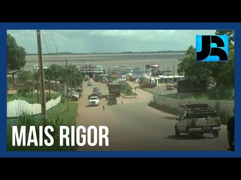 Governo do Pará decreta quarentena mais rigorosa em 12 cidades da região oeste do estado