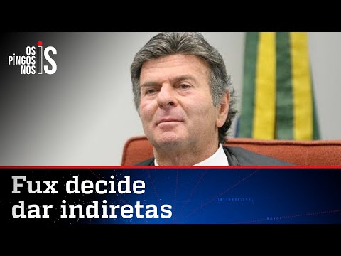 Fux tenta lacrar ao lado de Bolsonaro
