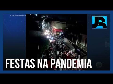 Apesar de restrições mais rigorosas, SP registra festas que invadiram a madrugada