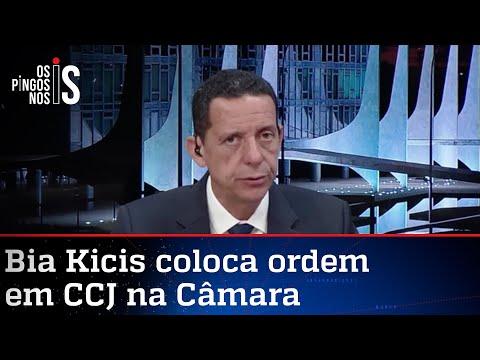 José Maria Trindade: Oposição quer transformar CCJ em inferno para Bia Kicis