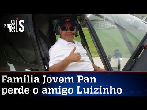 José Maria Trindade: Luizinho nos deixou, mas seu trabalho será eterno