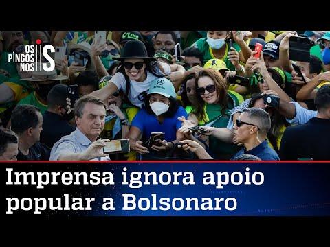 Ato reúne multidão em Brasília, mas imprensa se faz de cega