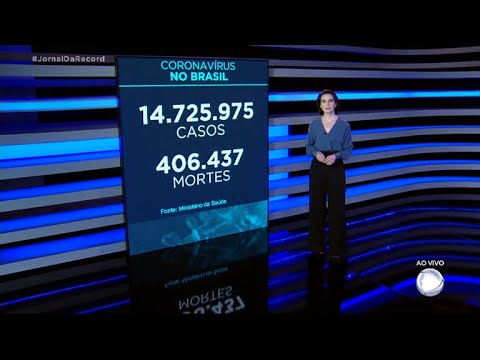 Coronavírus: Brasil registra 2.656 de mortes nas últimas 24 horas