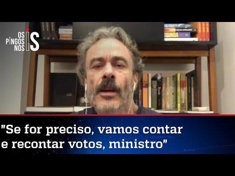 Fiuza: Barroso acha que vai sustentar aversão dele ao voto impresso com retórica