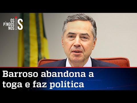 Barroso cria gabinete paralelo contra o voto impresso