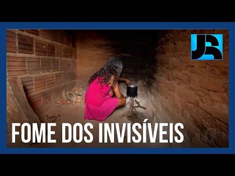 Nova série do Jornal da Record mostra os brasileiros atingidos pela fome durante a pandemia