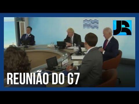 Recuperação pós-pandemia é um dos assuntos tratados no 2º dia de reunião do G7